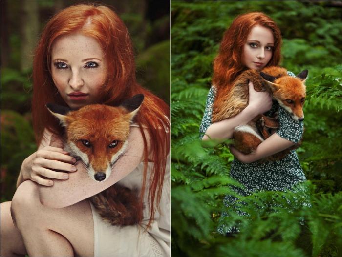 Очаровательные рыжие создания. Автор фото: Каролина Руволова (Karolina Ryvolova).