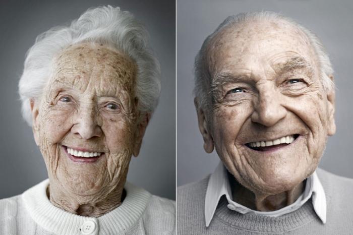Портреты людей достигших столетнего возраста. Karsten Thormaehlen.