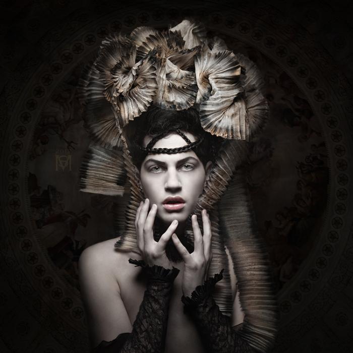 Головной убор. Автор работ: дизайнер-модельер Катажина Конежка (Katarzyna Konieczka).