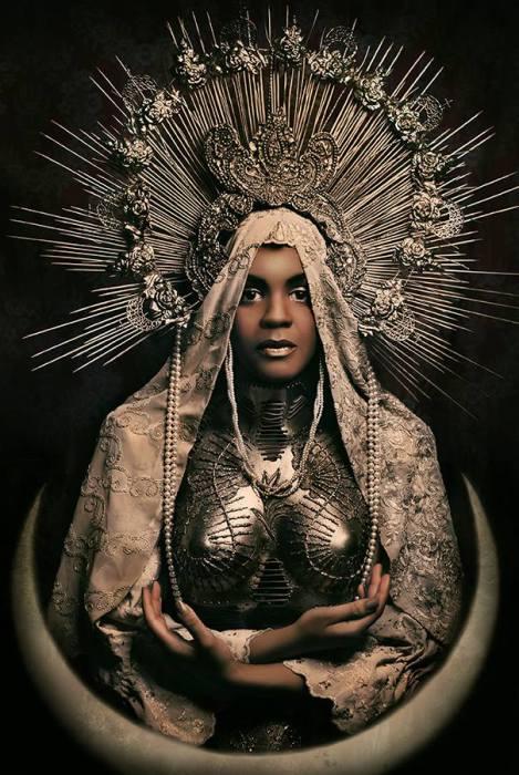 Черный костюм Мадонны. Автор работ: дизайнер-модельер Катажина Конежка (Katarzyna Konieczka).