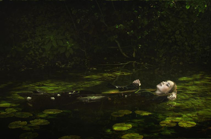 Отдых в объятиях воды. Katarzyna Niwinska.