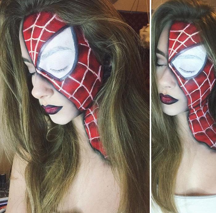 Женщина-паук.  Автор: Kate Werner.
