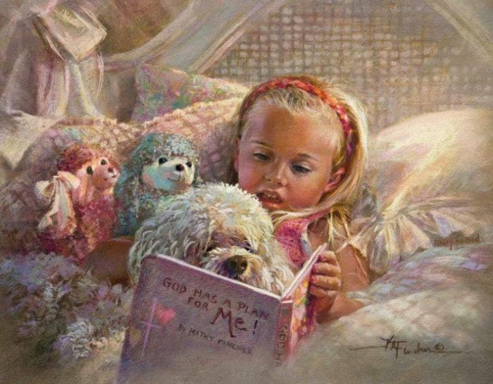 Почитаем книжку вместе? Автор: Kathryn Andrews Fincher.