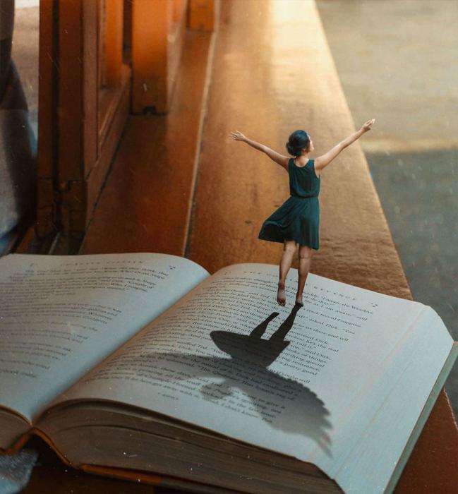 Знание - это свобода. Автор: Katrina Yu.