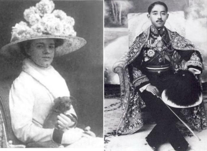 Слева: Катя Десницка. \ Справа: Принц Чакрабон - будущий супруг Екатерины. \ Фото: en.inform.kz.