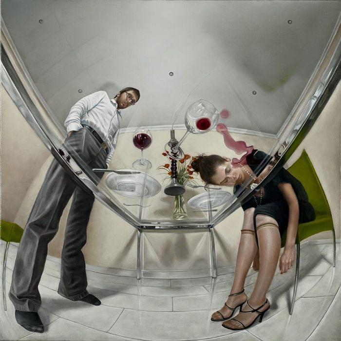 Иронично-правдивые картины о жизни реальной и виртуальной