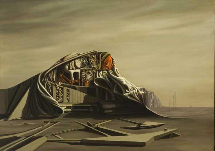 Мгновение, Кей Сейдж, 1949 год. \ Фото: timesunion.com.
