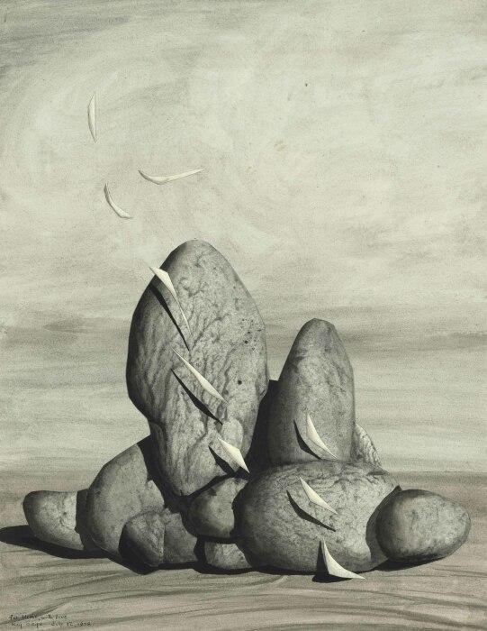 Мир почему, Кей Сейдж, 1958 год. \ Фото: christies.com.