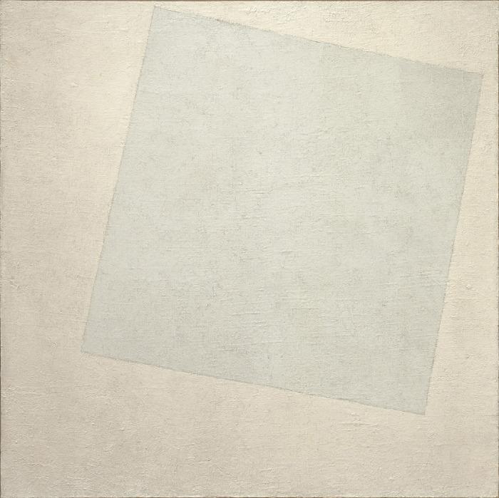 Супрематическая композиция: Белое на белом, Казимир Малевич, 1918 год. \ Фото: onlinelibrary.wiley.com.