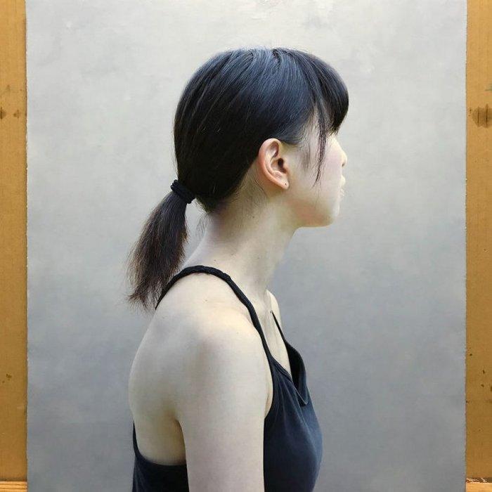 Портрет девушки. Автор: Kei Mieno.