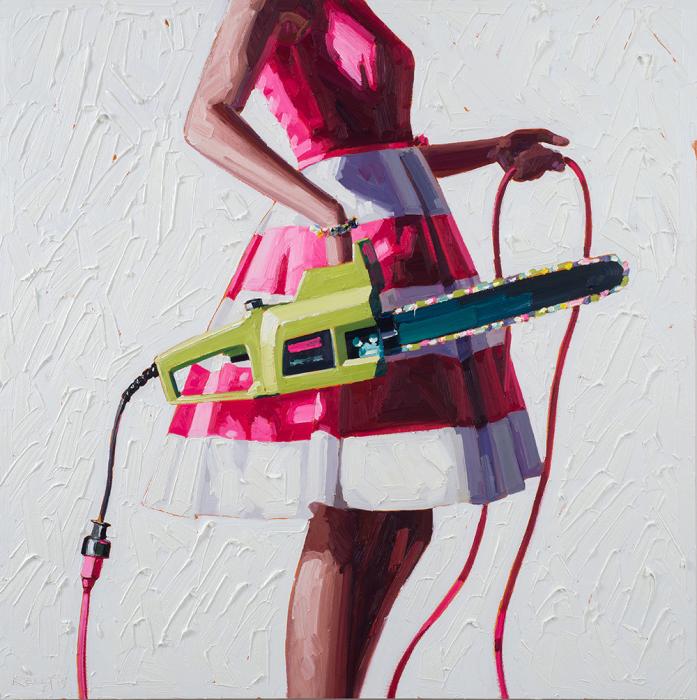 Загадочные образы современных девушек в картинах Келли Римтсен (Kelly Reemtsen).