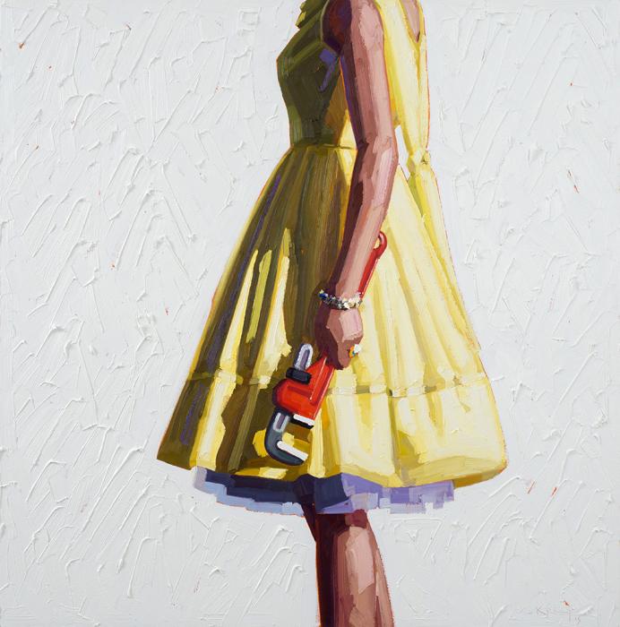Современно-опасные девушки в картинах Келли Римтсен (Kelly Reemtsen).