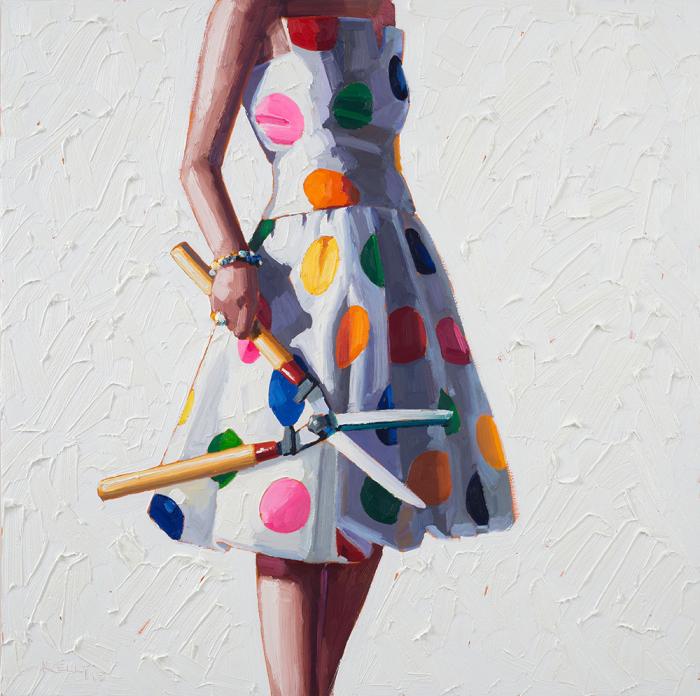 Девушки бывают разные... Картины Келли Римтсен (Kelly Reemtsen).