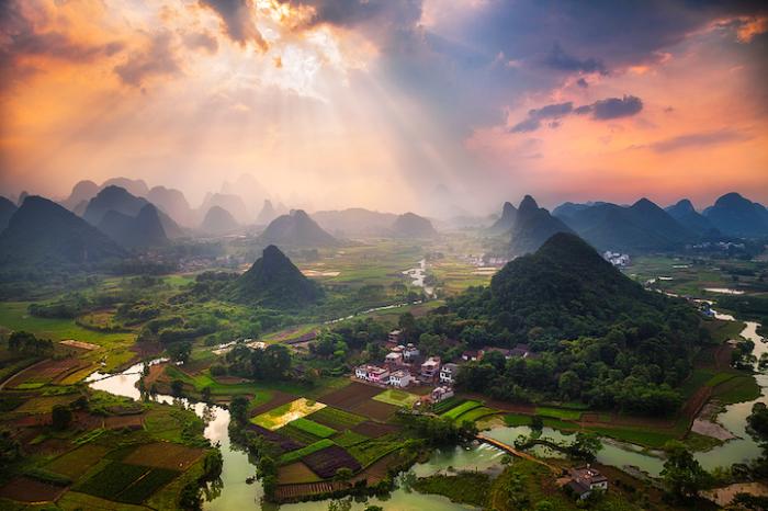 Великолепные пейзажи Китая. Автор работ: Кен Коскела (Ken Koskela).
