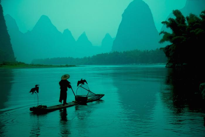 Вдоль по течению, Китай. Автор работ: Кен Коскела (Ken Koskela).
