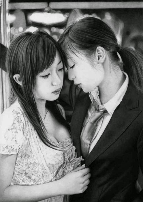 Ласки (Affection). Автор работ: художник-самоучка Кен Ли (Ken Lee).