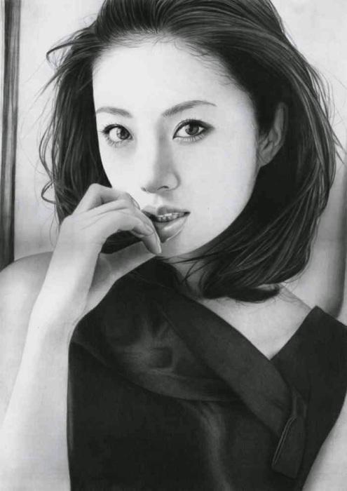 Айя Юто - я вернулась (Aya Ueto - I'm BACK).  Автор работ: художник-самоучка Кен Ли (Ken Lee).