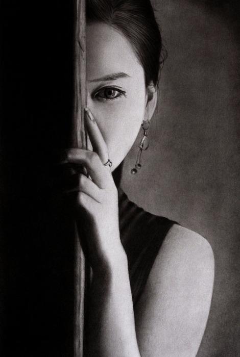 Таинственная (Mysterious). Автор работ: художник-самоучка Кен Ли (Ken Lee).