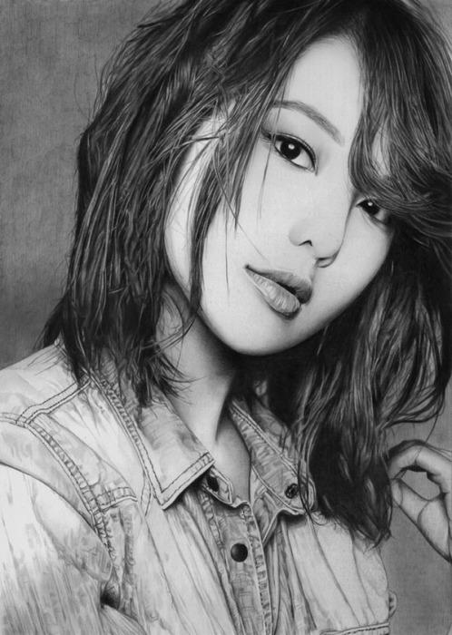 Суянг (Sooyoung). Автор работ: художник-самоучка Кен Ли (Ken Lee).