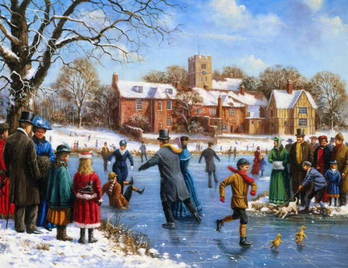 Зимние каникулы. Автор: Kevin Walsh.