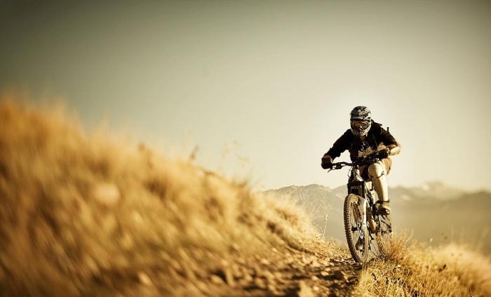 На горном велосипеде в Уосатч. Автор фото: Kevin Winzeler.