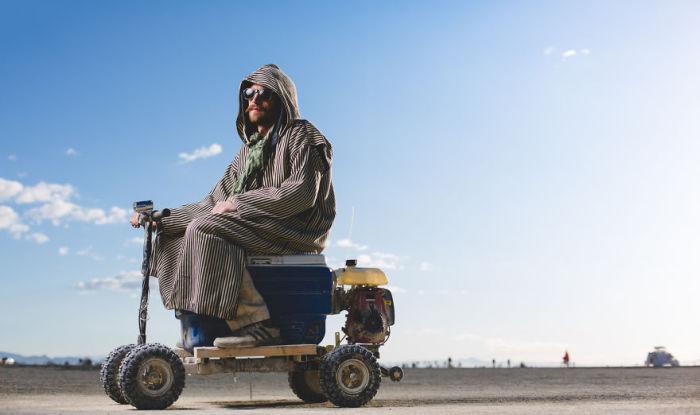 Фестиваль «Burning Man», пустыня Блэк-Рок, штат Невада (США). Автор фото: Ким Харди (Kim Hardy).