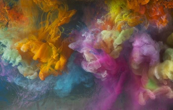 Буйство красок. Автор: Kim Keever.