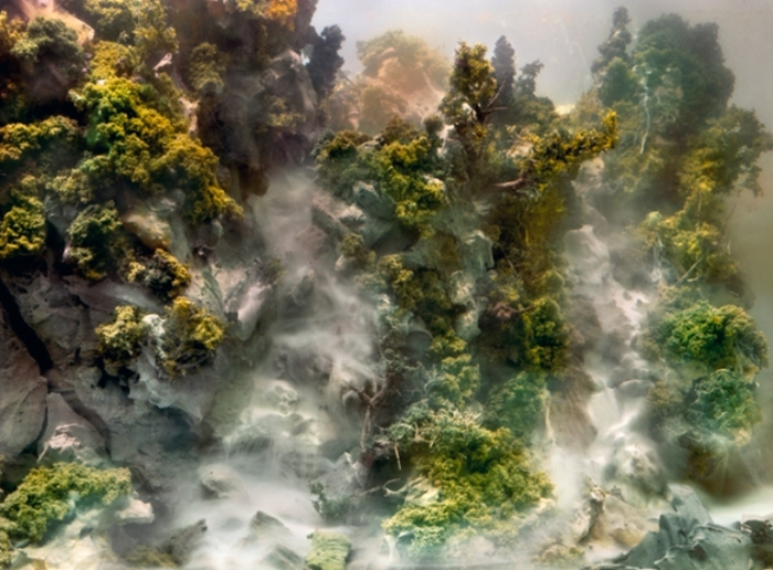 Водопады. Автор: Kim Keever.