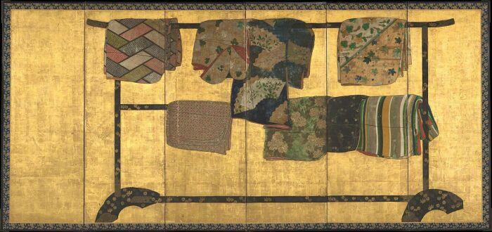 Тагасодэ, или чьи рукава, период Момоямы (1573-1615 гг). \ Фото: metmuseum.org.