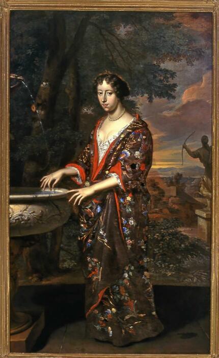 Анна Элизабет ван Рид, Жерар (Герард) Хут, 1678 год. \ Фото: thairath.co.th.