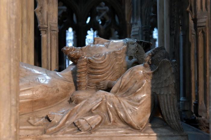 Глостерский собор Гробница Короля Эдуарда II. \ Фото: flickr.com.