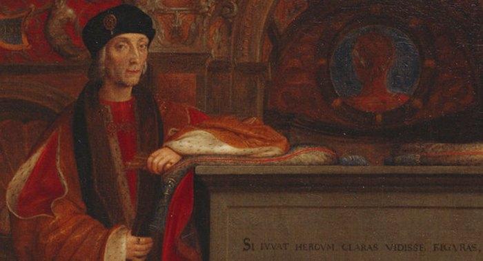 Король Генрих VII. \ Фото: davedoeshistory.wordpress.com.