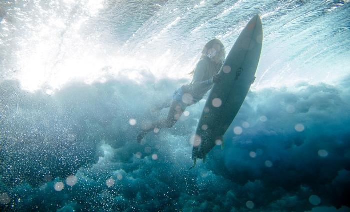 Серфинг под водой. Автор фото: Kirill Umrikhin.