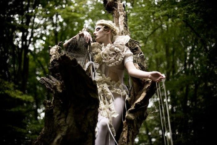Тайны леса. Автор: Kirsty Mitchell.