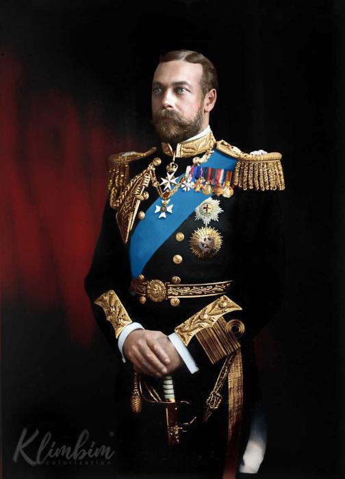Король Георг V. Автор: Ольга Ширнина.