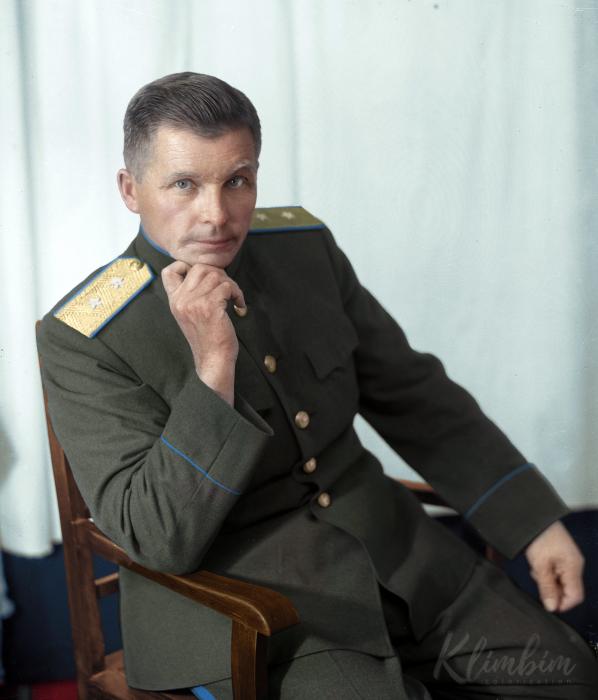 Сергей Владимирович Ильюшин, 1946 год. Автор: Ольга Ширнина.