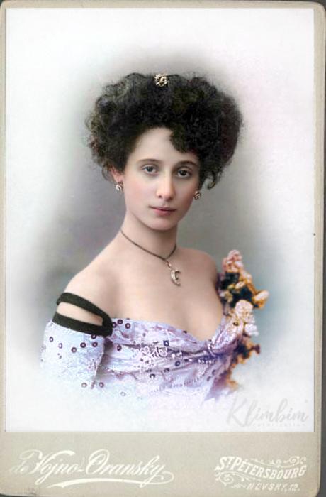 Анна Павлова, 1905-1910 гг. Автор: Ольга Ширнина.