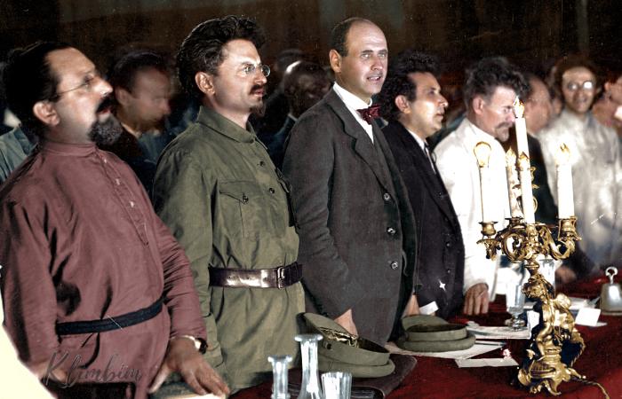 Делегаты II конгресса Коминтерна, 1920 год. Автор: Ольга Ширнина.