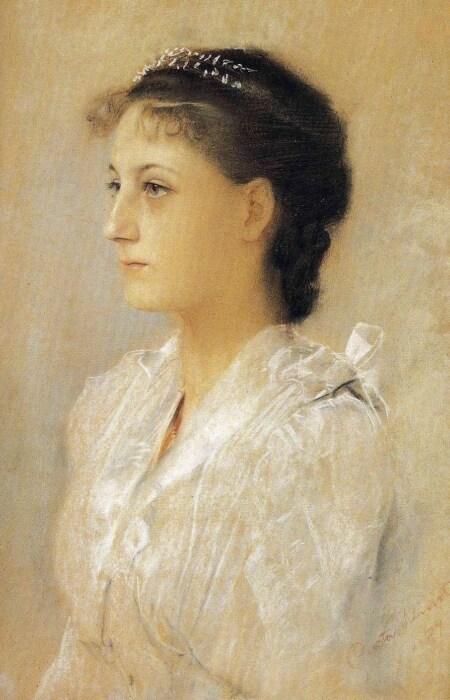 Эмили Флеге, 1891 год.\ Фото: blogspot.com.