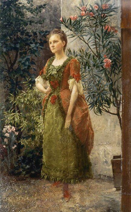Портрет Эмилии Флеге, 1893 год.\ Фото: amazon.com.