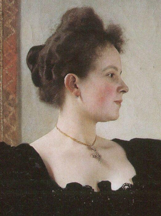 Мари Брейниг, 1894 год. \ Фото: pinterest.com.