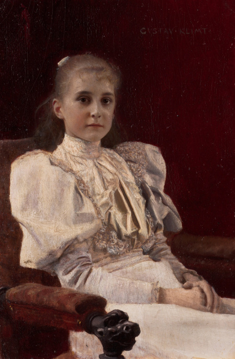 Сидящая молодая девушка, 1894 год. \ Фото: arthistoryproject.com.