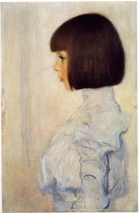 Элен Климт, 1898 год. \ Фото: unsognoamaranto.tumblr.com.
