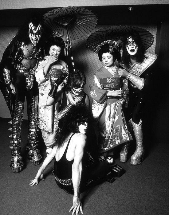 «Kiss» в Токио, 1978 год. Автор: Koh Hasebe.