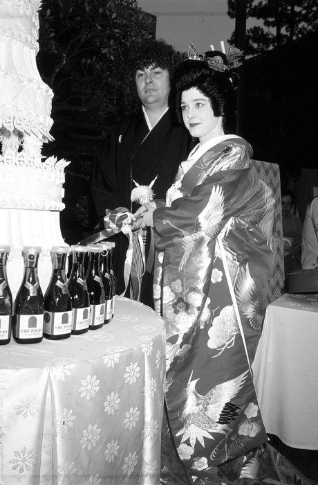 Сьюзи Кватро и Лен Тьюки в Токио, 1978 год. Автор: Koh Hasebe.