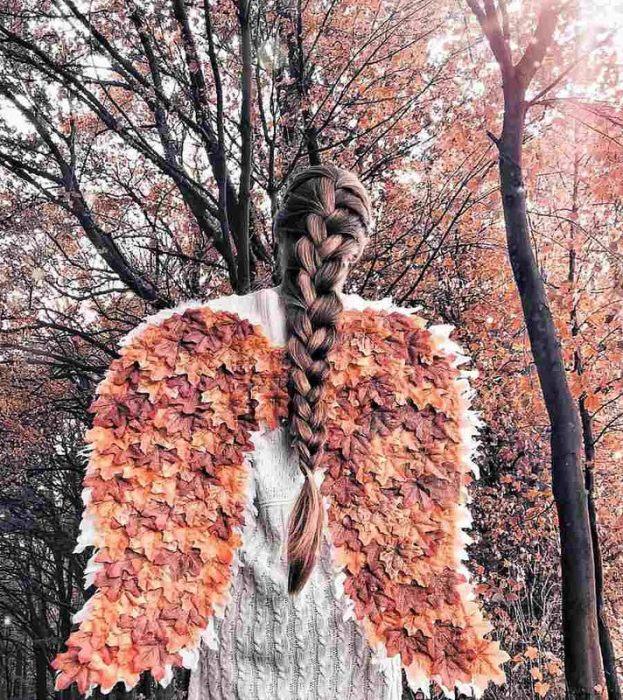 Осенний ангел. Автор: Krissy Elisabeth.