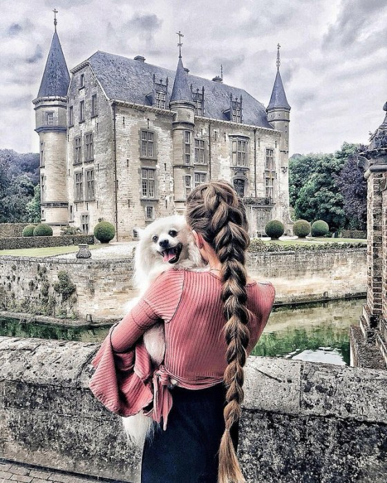 Каждой принцессе по замку. Автор: Krissy Elisabeth.