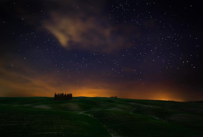 Звёздная ночь. Автор: Krzysztof Browko.