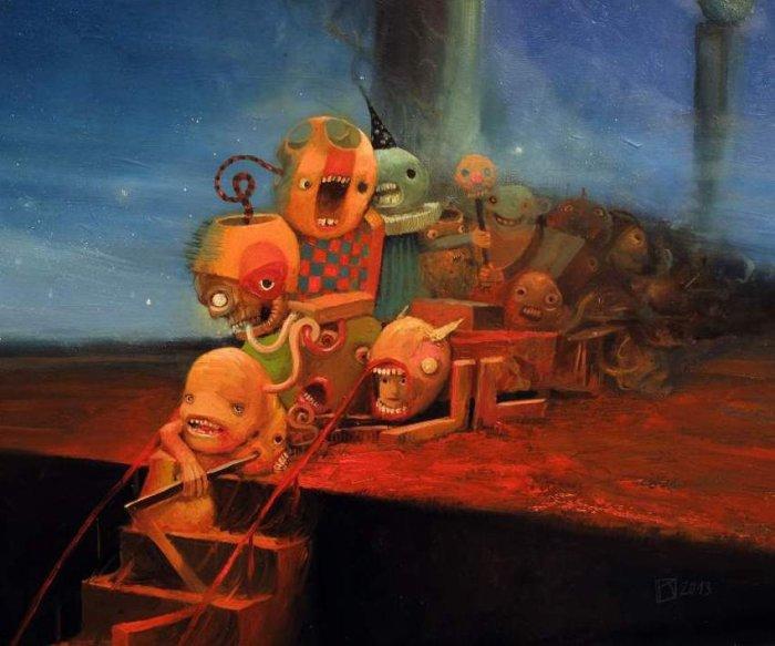 Театр монстров. Автор: Krzysztof Iwin.