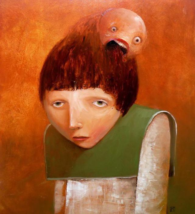 Монстры в моей голове. Автор: Krzysztof Iwin.